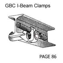 GBC I-Beam Clamps